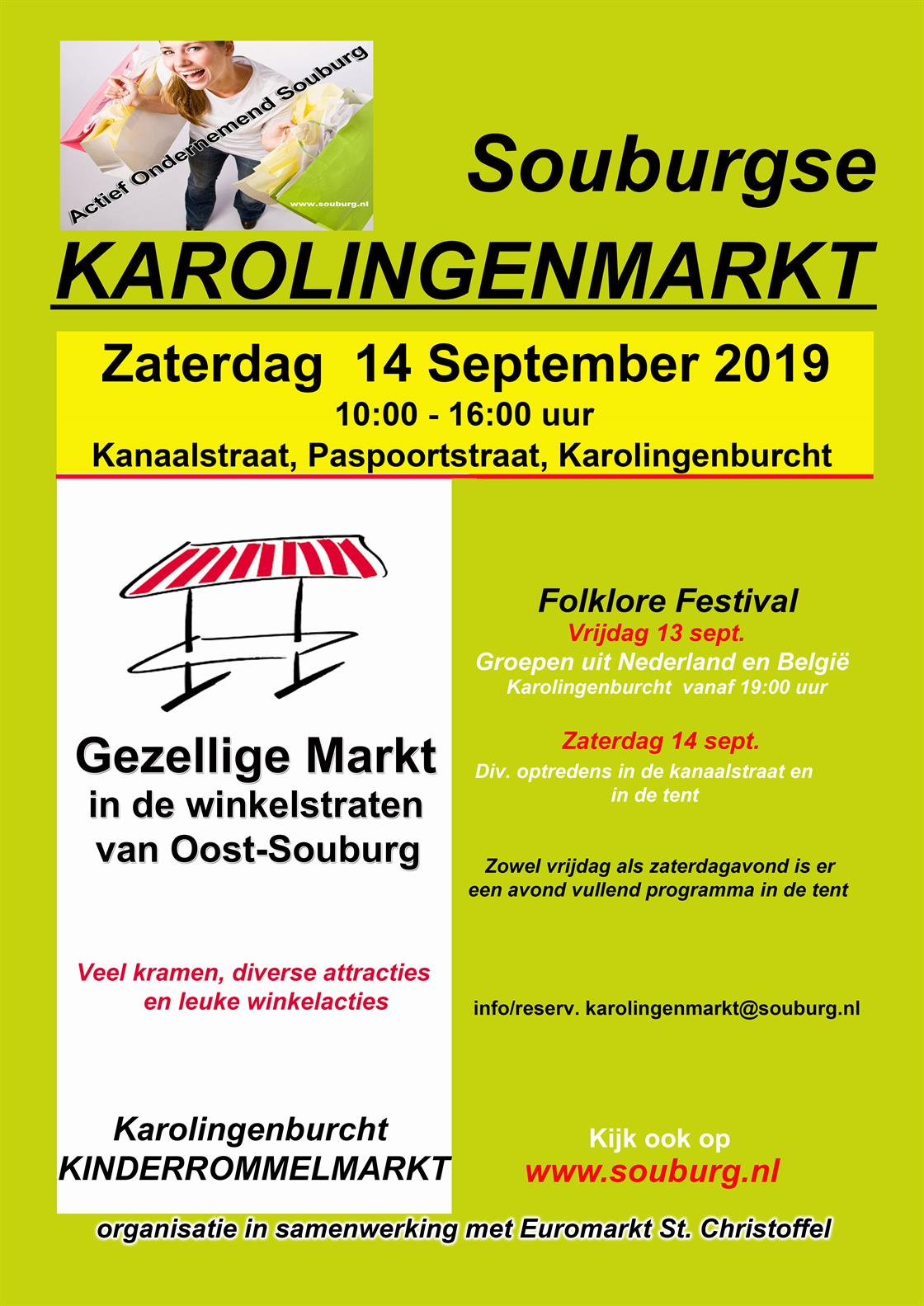 Karolingenmarkt SEPTEMBER in Oost-Souburg