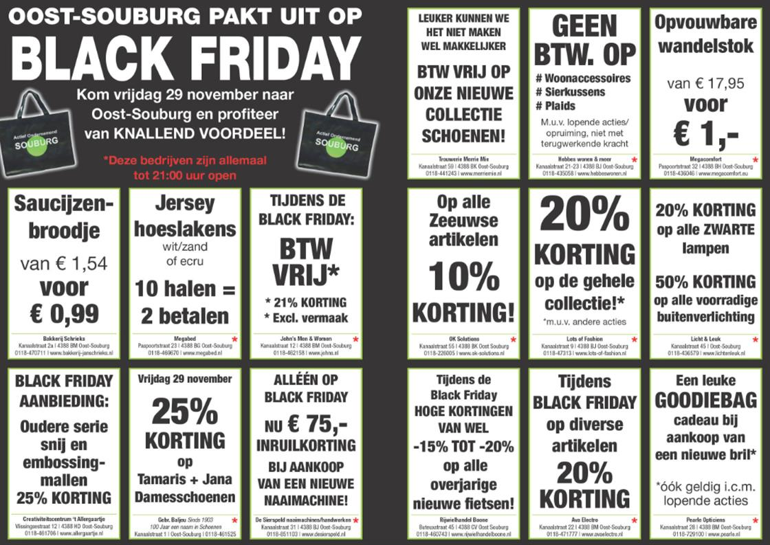 BLACK FRIDAY in Oost-Souburg